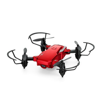 Tinkleo Mini Foldable Unmanned Drone with Quacopter HD Camera Wi-Fi Transmission Headless Mode Camera Drone