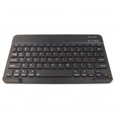 Ultra-Slim Bluetooth Keyboard Durable Plastic with Comfortable Keycap for iPad Air, iPad Mini, iPhone