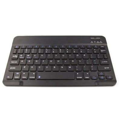 Ultra-Slim Bluetooth Keyboard Durable Plastic with Comfortable Keycap for iPad Air, iPad Mini, iPhone