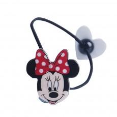 Hair Band Acrylic Elastic Material Rope with Disney Cartoon Modeling Stripe Binding Hair Headdress for Girls String