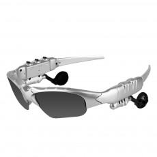 Bluetooth 4.1 Glasses Sport Headset, Multifunction Free Calls Music Play Bluetooth Smart Headset Glasses, ABS Material Anti-ultraviolet Ocular Anti-vertigo Polarizing Lens Adjustable Eyeglass