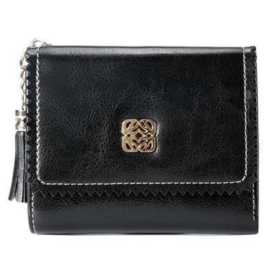 Women Tassel Buckle Purse, Elegant Purse Clutch Portable Mini Pocket Purse, Simple Billfold Purse for Girls