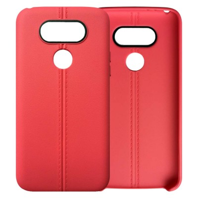 Double Line Phone Protector Case for LG G4 G6, Solid Color Anti-Fall Phone Cover, Minimalist TPU Back Cover