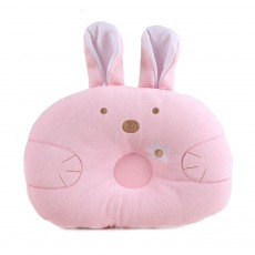 Soft Baby Pillow Anti-headrest, Comfortable Pillow for 0-12 Months Baby, Breathable Baby Pillow, Baby Cotton Pillow, Candy Rabbit Pillow