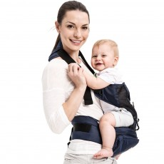 Ergonomic Baby Carrier for Newborn Baby, Front and Back Breathable Adjustable Baby Backpack Carrier with Removable Shoulder Pad Baby Carrier