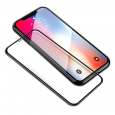 Tempered Glass Screen Protector Full Screen Coverage, Anti-Fingerprint Bubble Free Protector for iPhone X or XS, iPhone XR, iPhone XS Max, iPhone7 or 8, iPhone 7 or 8 plus, iPhone 6 or 6S, iPhone 6S plus