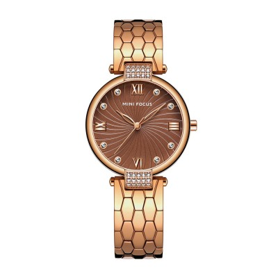 Elegant Women's Watch Stainless Steel Fashion Analog Quartz Watch 2019 Waterproof Wristwatch