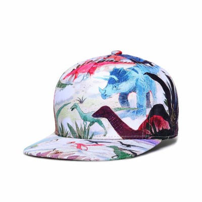 Baseball Cap with Adjustable Closure, Colorful Pattern Cotton Cap for Men Women Unisex Cap