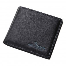 Bifold Side Flip Wallet, High-End Business Men Wallet, Men's Multifunctional Handbag, Extra Capacity Travel Wallet