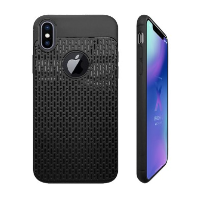 Plaid Solid Color Mobile Phone Case for iPhone, Ultra-Thin Anti-Fingerprint Phone Case for Apple iPhone X, XS, 6, 6S,7,8, 6S Plus, 8 Plus Soft Back Cover
