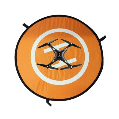 PGY Portable Parking Apron Pad for DJI Jingling 3/4ph Wu ANTOM3/4 UAV Accessories Reflective Fast-fold Landing Pad 75*75cm