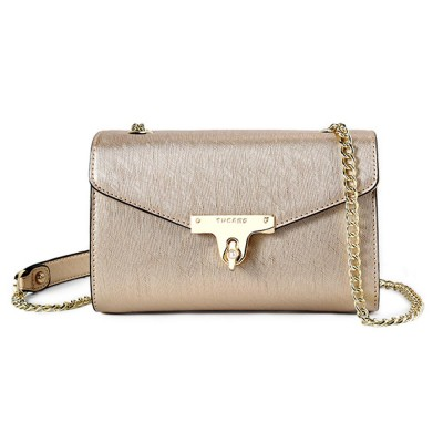 TUCANO Chain Bag for Women, Fashionable Square Messenger Bag for Women Spring Summer, Single-shoulder Bag