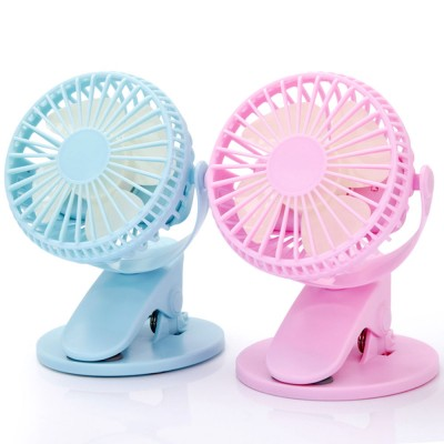 Vehicle-mounted Mini Fan,  Mini Fan USB with Durable Clip Cool Mini Fan for Summer Home, Car, Office