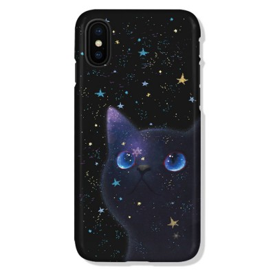Star Cat IMD Apple XSMAX All-inclusive TPU Soft Shell Phone Cover for IPhoneX8plus7 Mobile Phone Shell