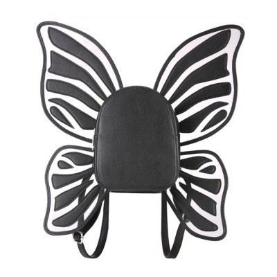 Angles Wings Women Backpack PU Material Knapsack Butterfly Shape Pack-sack for Women