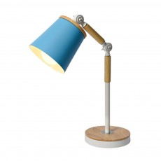 Nordic Style Desk Lamp, Macaron Desk LED Night Light with USB Charging Port, Office Essential Eye Protection LED Light