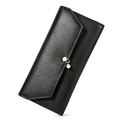 d50720668a2e TUCANO Genuine Leather Clutch, Fashion Simple Personality Long Purse, Women  Ladies Girl 2019 New Clutch Bag