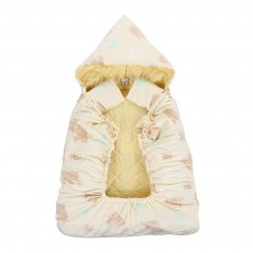 Newborn Baby Carrier Cloak Windproof Warm Hip Seat Back Strap with Triangle Hat for Infant