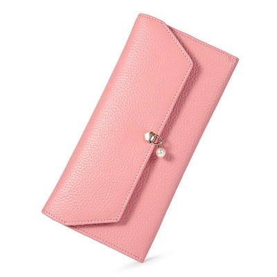 TUCANO Genuine Leather Clutch, Fashion Simple Personality Long Purse, Women Ladies Girl 2019 New Clutch Bag