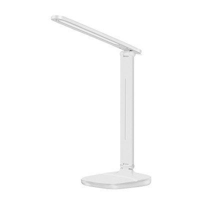LED Reading Light Portable Rechargeable Touching Desk Light Adjustable Table Lamp Bedside Lamp with 3 level Brightness