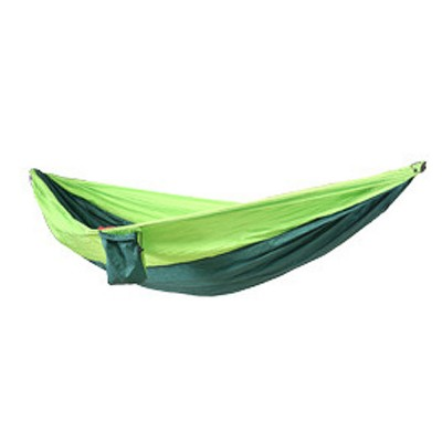 Camping Hammock Portable Indoor Outdoor Lightweight Nylon Parachute Hammocks for Travel, Beach with Nylon Straps and Carabiners