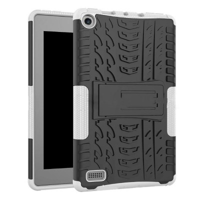Full Protection Case for Kindle fire7 2017 Anti-slip Shockproof Impact Resistance Protective Case Cover with Kickstand