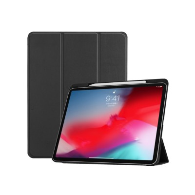 Folio Protective Case for iPad Pro 11 Multiple Angles Stand Smart Protective Cover Trifold Stand Smart Shell with Apple Pencil Slot
