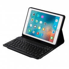 Smart Case with 3.0 Wireless Bluetooth Keyboard for iPad 9.7, Magnetic Leather Auto Sleep Awake Smart Case with Pencil Holder, Intelligent Sleep Protection Cover for Air 2 1, iPad Pro 9.7, ipad 9.7 2017