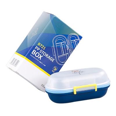 Sealed Pill Box for Medicine Oral Liquid Hardware Flexible Removable Plastic Compartment Portable 7 Days Moisture-Proof Mini Pill Case
