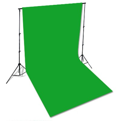 Green Screen Soft Cotton Cloth Studio Background ID Photo Photography Washable Backdrop 3x6M
