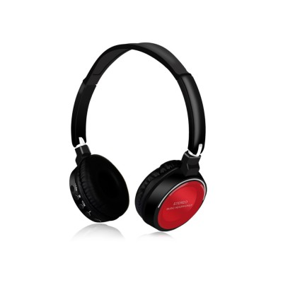 Bluetooth V4.2 Headset, Wireless Hi-Fi Stereo Noise Cancelling Over-ear Headphone with Built in Microphone