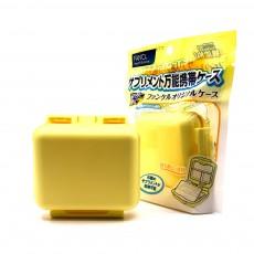 Square Pill Box Fashion Double-layer Plastic Pill Box Case 6 Small Boxes Pill Organizer Portable Tablet Holder