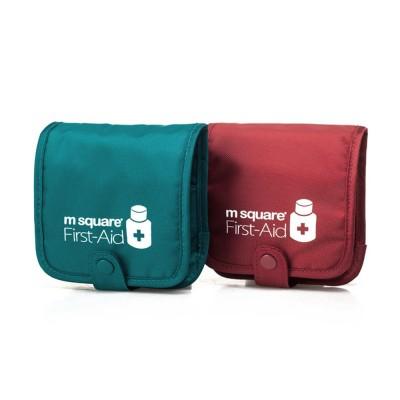 m square Travel BPA Free Plastic Pill Box Case 6 Compartments Pill Organizer Portable Tablet Holder