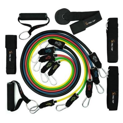 Multifunctional Safe Breaking-proof 11PCS Pull Rope Suit, Gym Yoga Training Exercising Elastic Resistance Band