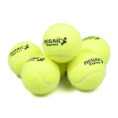 3PCS General Teenagers Training Pressure Tennis Balls Set, Delicate Durable Elastic Rubber Practice Tennis