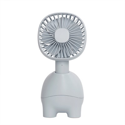 Mini Pet Handheld Fan Oscillating Small Portable Fan with USB Chargeable for Office Table Home Dormitory