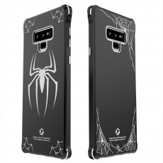 Glass Painted Phone Case for Note 9, Anti-smash Mirror Face Protection Phone Cover Surrounding Rim N9 Creative Phone Case for Lovers Handset Accessories