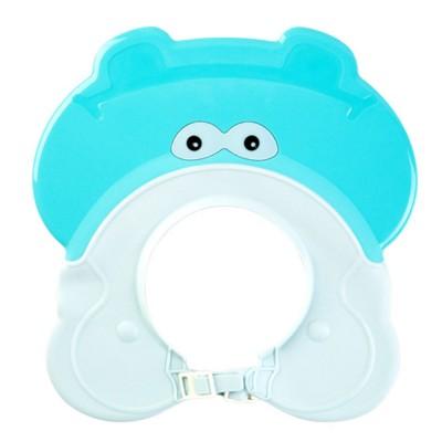 Animal Model Baby Shampoo Cap, Ultra-soft Elastic Ears Eyes Mouth Protection Shower Hat for Infants Shampoo Cap