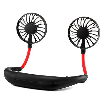 Hands-Free Neckband Fan Neckband Cooling Fan Portable Neckband Fan with USB Rechargeable for Traveling Outdoor Office