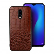 Phone Case Retro Genuine Leather 3D Alligator Skin Texture Case Fashion Phone Accessories for OPPOR Series