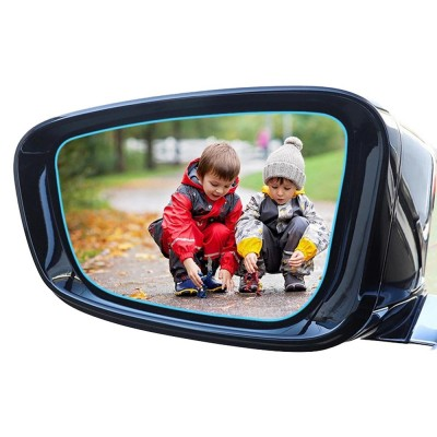 Car Rearview Mirror Glass Film Rainproof Anti-Fog Film Dust-Proof Anti-Glare Anti-Scratch Protective Film