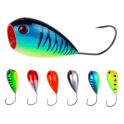 Lure Fishing Bait for Outdoor Fishing Lure Fishing Hard Bait Double Circle Mouth Single Hook Floating Fishing Bait Fishing Lure Fishing Hook Fishing Gear