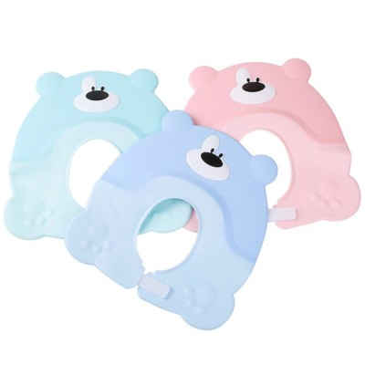 Baby Shampoo Cap for Infant, Toddlers, Newborns, Adjustable Elastic Baby Shower Bathing Ear Eye Protection Cap, Soft TPE PP Safe Shampoo Hat for Baby Children