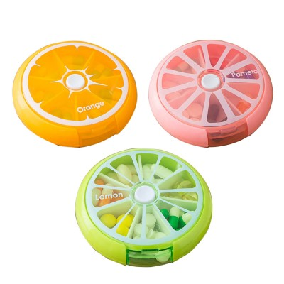7 DAY Organizer Mini Pill Box Plastic Medicine Box for Pills Vitamin Tablets One-week Pill Organizer Container