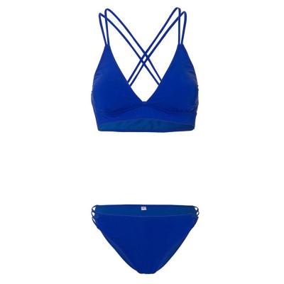 Women's Double Shoulder Straps Bikini, Cozy Ultra-Thin Sexy Triangle Cup Gathered Women's Bikini Set, No Steel Swimming Suit Bikini