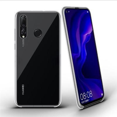 Plain Transparent Phone Case Ultra-soft Light Silicone Phone Shell for HUAWEI NOVA 4 Shinny Phone Cover