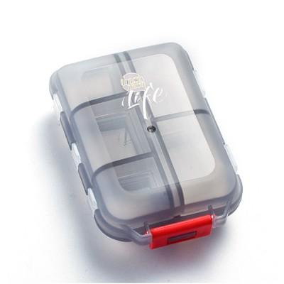 Moisture-proof Portable Weekly Pill Case, Multi-purpose Pill Organizer Pure Color Medicine Box with 10 Slots