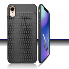 Non-slip Plaid Apple Phone Case with Total Package Side Design Separate Keys, Ultra-soft Silicone Phone Shell for iPhone XR or XS MAX 6.5 inch