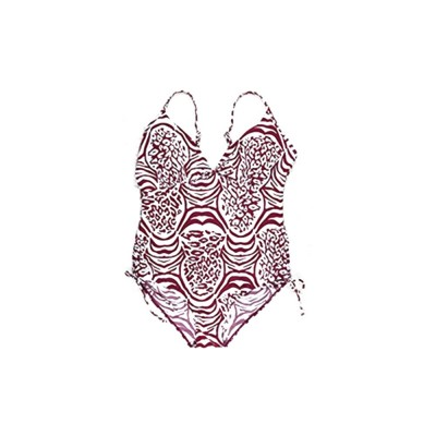 One-piece Swim Suit for Women, Sexy Swimsuit with Fashionable Pattern, One-piece Bikin with Extra Large Size