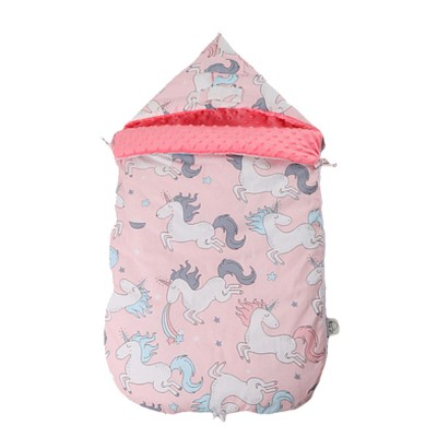 Baby Sleeping Bag Spring Autumn Extra Thick Baby Sleeping Sack, Twitching-safe 100% Cotton Newborn Baby Sleeping Fleabag